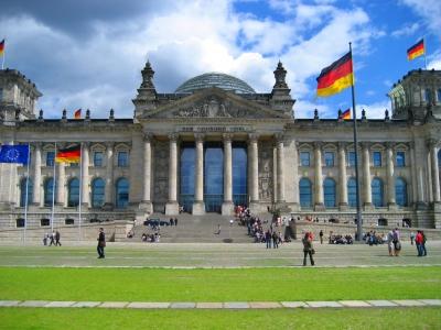 Reichstagsgebäude in Berlin aufgenommen von Kevin Weber