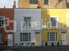 Colored Houses in Chelsea