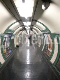 straight underground tunnel