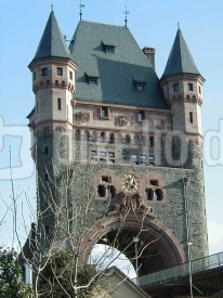 Rheinbrückenturm vom Worms
