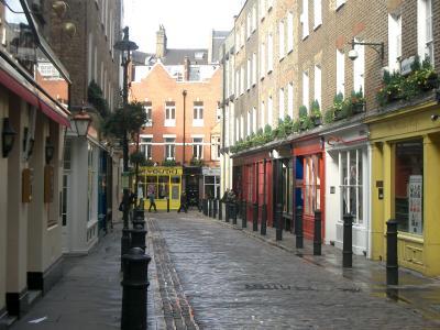 Carnaby Street ruhig
