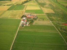 Luftaufnahme Bauernhof