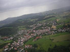 Kolmbach im Regen