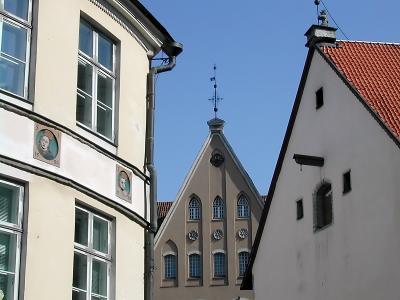 Giebel in Tallinn