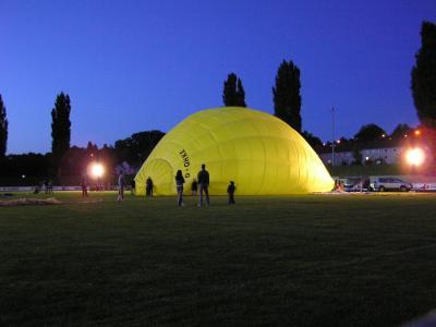 Ballonglühen - Aufbau