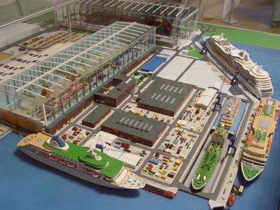 Modell Meyer Werft