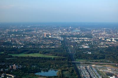 Köln von Süden gesehen