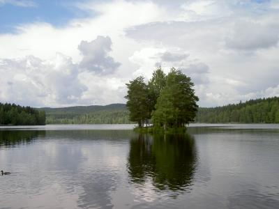 See in der Osloer Nordmarka