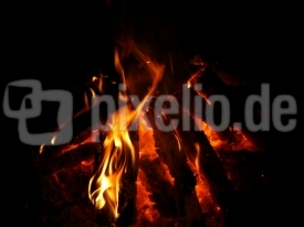 lager feuer