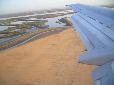 landing in Faro portugal
