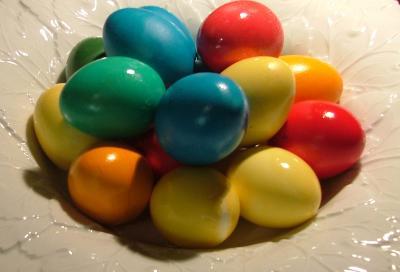 Eier nach dem Tauchbad 3