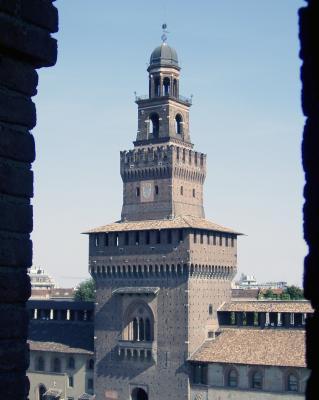 Castello Sforza in Mailand
