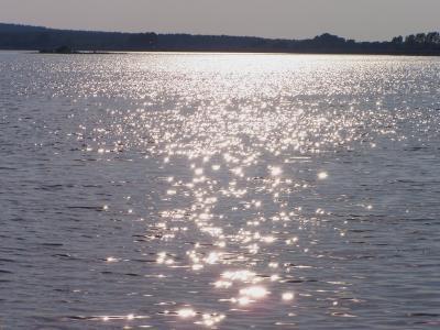 Sonnenstrahlen leuchten
