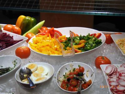 Brunch-Buffet Salate