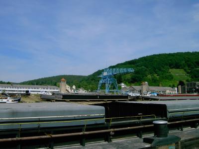 Wörth am Main Unterfranken - Schiffswerft in Erlenbach