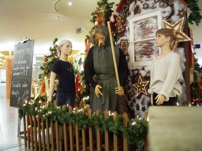 Weihnachtsmärchen dekorationsversuch