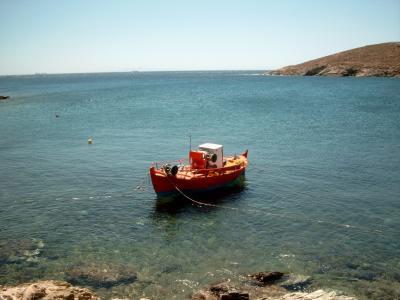 verschwiegene Buchten 3 - Fischerboot