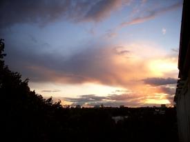 Sonnenuntergang .. das letzte Foto von diesem Tag!
