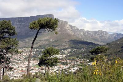 Der Tafelberg bei Kapstadt