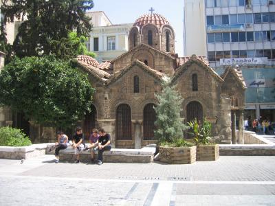 mitten in der Athener Altstadt