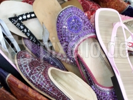 Schuhe beim Straßenhändler