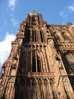 Strassburger Münster Nordturm