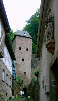 Die Mildenburg in Miltenberg