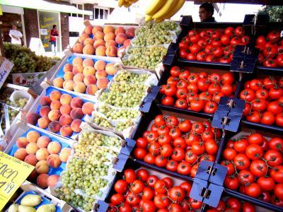 Obst-/Gemüsestand