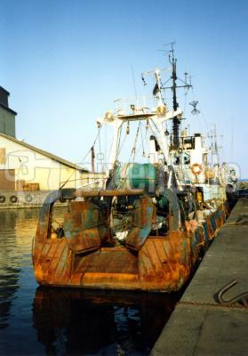 Trawler aus Estland