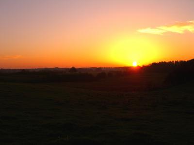 Sonnenuntergang im Bestetal