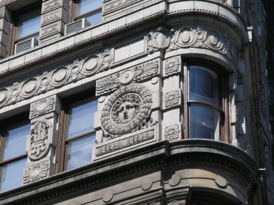 Detail Flat Iron Building