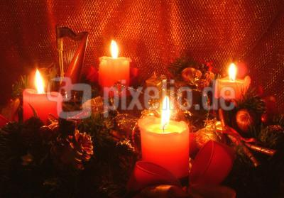 Heiligabend steht vor der Tür