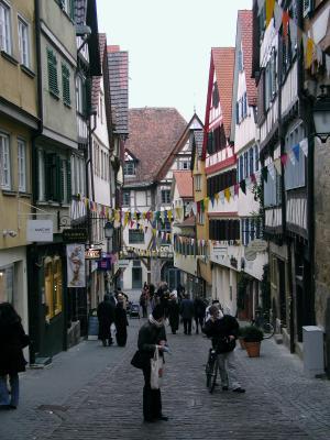 Tübinger Markt Gasse