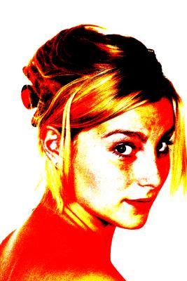 Portrait von junger Frau