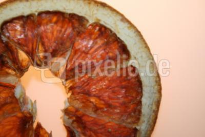 Mandarine getrocknet