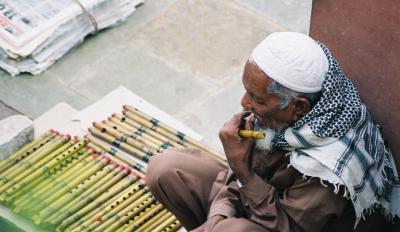 Der Flötenverkäufer