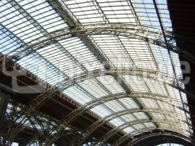 Dachkonstruktion Leipzig Hbf