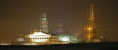 Impressionen Dresden bei Nacht