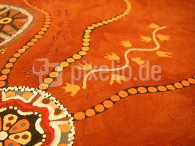 Aboriginalpainting.... Wege