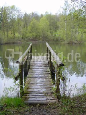 Brücke oder Steg