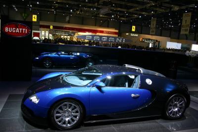 Gespiegelter Bugatti