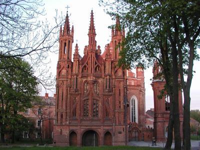 St. Anna-Kirche in Vilnius / Litauen