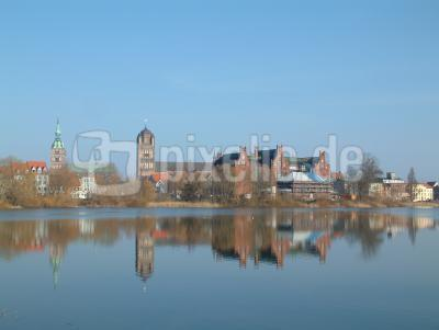 Stralsund am Teich