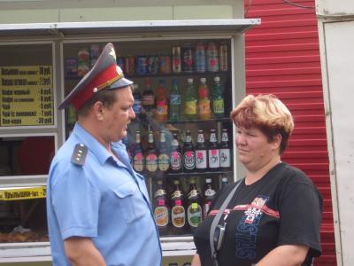 Auf dem Markt in Vladivostok (Russland)