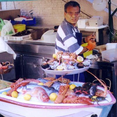 Der Fischmarkt in Nizza