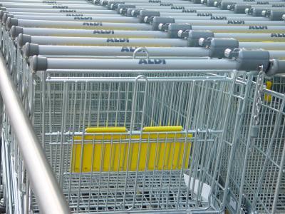 Aldi-Einkaufsshopper