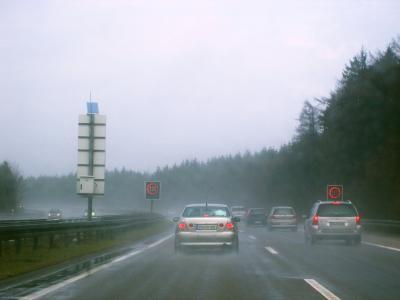 Geschwindigkeitsbegrenzung