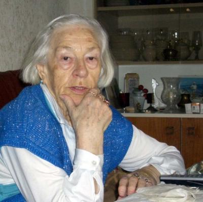 84 Jahre alt und trotzdem lebenswillig, selbstbewusst und stark
