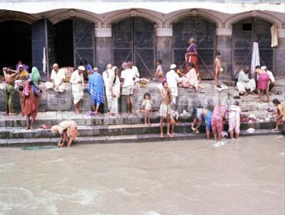In Kathmandu; Der heilige Fluss Bagmati