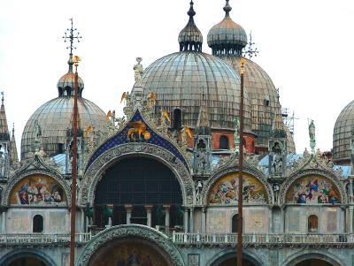 San Marco in Venedig Detailansicht